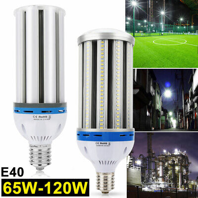 650W 1200W Equivalent LED Corn Cob Light Bulb 65W 120W Lamp E40 E39 Mogul (650w Lamp)