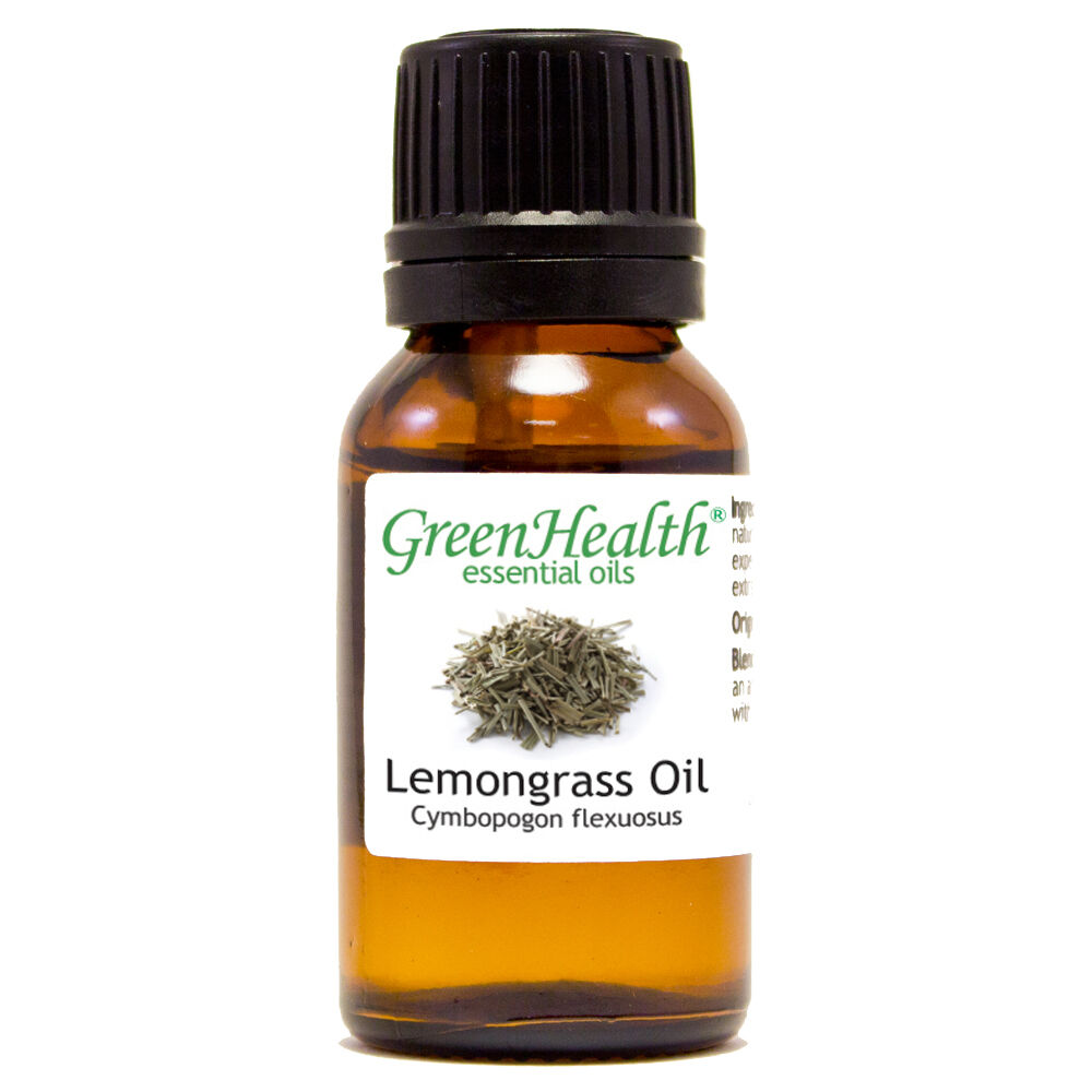 15 ml Lemongrass Essential Oil  - GreenHealth