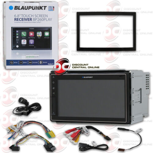 BLAUPUNKT 2DIN CAR STEREO 6.8 DIGITAL MEDIA USB APPLE CARPLAY & ANDROID AUTO