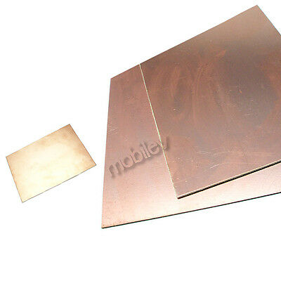 2 Copper Clad Laminate Circuit Boards Fr4 Pcb Double Side 120mmx180mm 12cmx18cm