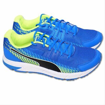 Men's Puma Sequence V2 Electric Blue Running Shoes Trainers UK Sizes 10.5, 11