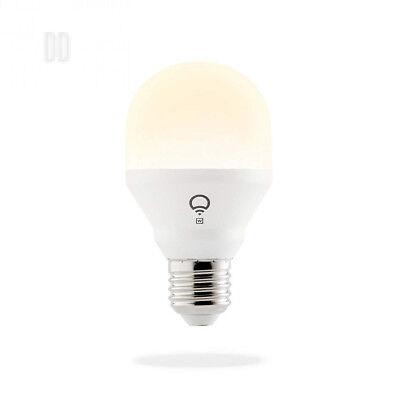 LIFX Mini White (E27) Wi-Fi Smart LED Light Bulb, dimmable, warm white, no...