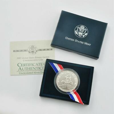 1997 Botanic Gardens Commemorative Silver Dollar Mint State