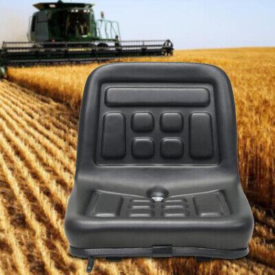 Universal Black Slidable Tractor Seat Wrails Horizontally Adjustabledrain Hole