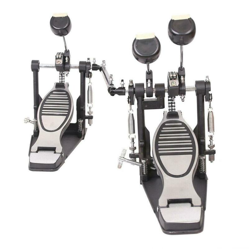 Double Bass Drum Pedal Twin Kick Drum Pedal Dual Chain Percussion