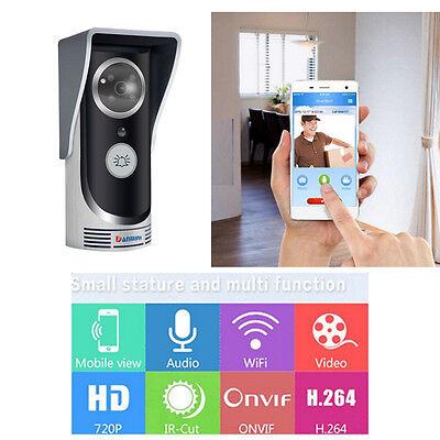 Home Wireless Doorbell WiFi Remote Video Camera Door Phone Intercom Security US