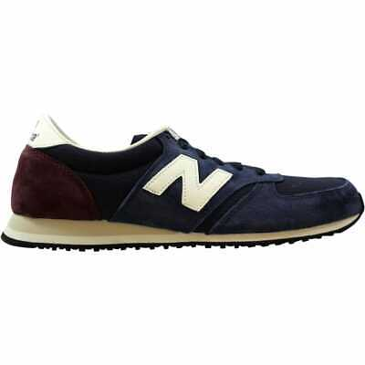 New Balance 420 Trainer Navy/Burgundy U420RNB Men's Size 7 Medium