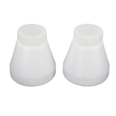 8 X Hopper Cups Bottle For Powder Coating System Pc02 Pc03 Paint Spray Gun White