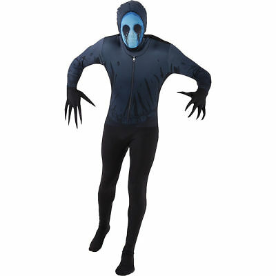 Adult Eyeless Jack Morphsuit Morph Suit  Authentic Original Fancy Dress Large