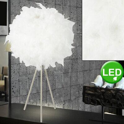Design LED Schreib Tisch Steh Lampe Büro ALU Beleuchtung Wohn Schlaf Zimmer Flur