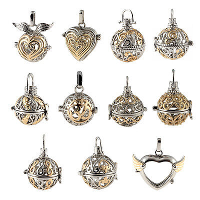 New Locket Pendant Aromatic Fragrance Essential Oil Diffuser DIY Necklace