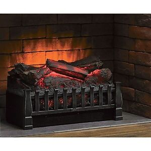 Duraflame   20 in. Electric Fireplace Log Set Heater