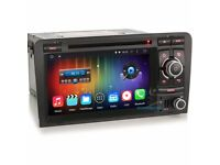 AUDI A3 S3 Android 6.0 AUDI A3 Car Dvd Player /internet / Quad Core Full Sat Nav Touch Screen
