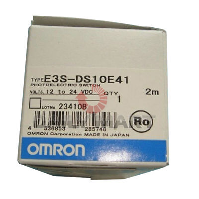 Brand New Omron E3s-ds10e41 High Photoelectric Switch Proximity Sensor Cable 2m