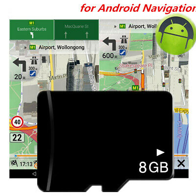 2019 GPS Navigation Map 8G SD Card USA Canada Mexico for Car Android DVD Radio