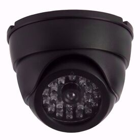 Boxed Dome CCTV Camera. Realistic looking for Home / Office Security. DIY, Burglar Alarm