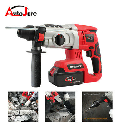 Autojare 1 Sds Cordless Rotary Hammer Drill Brushless Lithium-ion Battery 20v