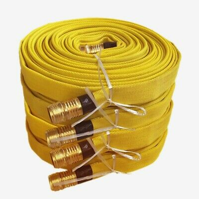 SIX-75 FT X 1.5 IN NST  FIRE HOSE UNUSED  CONDITION 450 ft