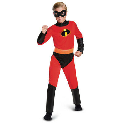Disney PIXAR Incredibles 2 DASH Child Costume Boys Size Medium 8 - 10 New