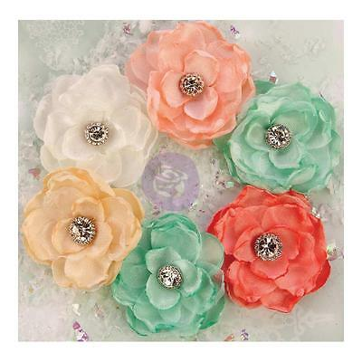 Prima Marketing Sweet Peppermint - Flowers - Christmas Morning - 590659