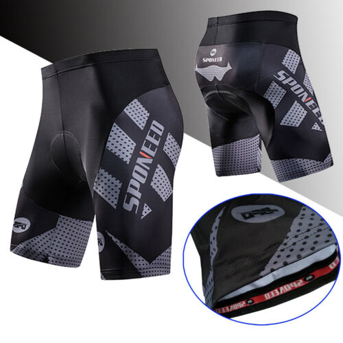 4d slicone pad bicycle shorts men s