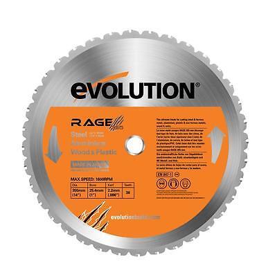 "Evolution RAGE RAGE355 BLADE 14"" for Multi-Purpose cutting RAGE 2 S.A.W."