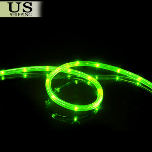 Купить Unbranded - 50' 150' LED Rope Light 110V Party Home Christmas Outdoor Xmas Lighting 100 300