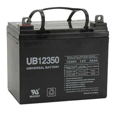 UPG UB12350 U1 12V 35Ah WKDC12-35J U1HR1500S 0120935 6FM33U1 SLA Battery