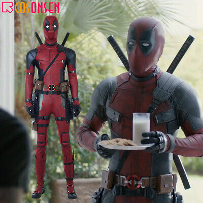 Deadpool All Costumes (Cosonsen Deadpool 2 Wade Cosplay Costume Deluxe Outfit Custom Made All)