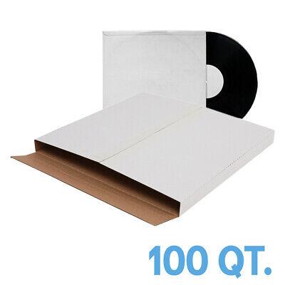 100pcs Premium Lp Vinyl Record Album Book Box Variable Depth Shipping Mailer