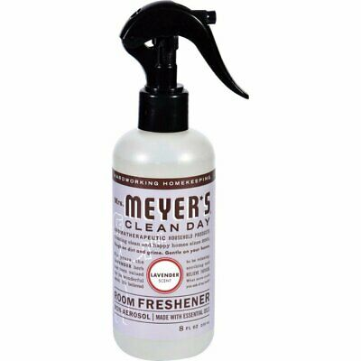 Mrs. Meyers Clean Day Room Freshener Lavender Scent 2 Pack 8 oz Bottles ()