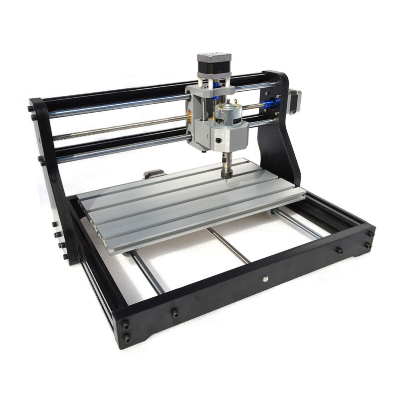 CNC 3018 PRO Engraving Machine Router 2IN1 PCB Wood DIY Milling Laser Mark USED