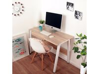 SALE!! Home Office Desk Corner Computer PC Writing Table WorkStation Wooden & Metal