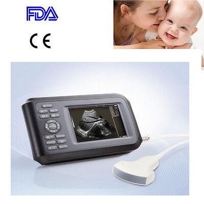 5.5 Handheld Ultrasound Scan Ultrasound Machine Scanner Digital Convex Human