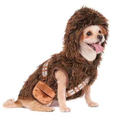NEW - Rubies Chewbacca Star Wars Dog Costume - Chewbacca Kostüm Hund