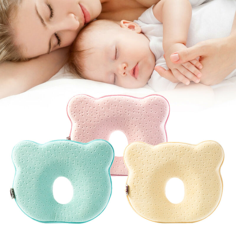 Babykissen gegen Verformung des Kopfs aus Menmoryschaum Schlafen Plattkopf