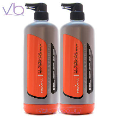 DS LABORATORIES Revita High Performance Hair Growth Stimulating Shampoo 2x925