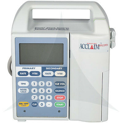 Hospira Encore Acclaim Pump Iv Patient Ready6 Month Warrantyfree Shipping