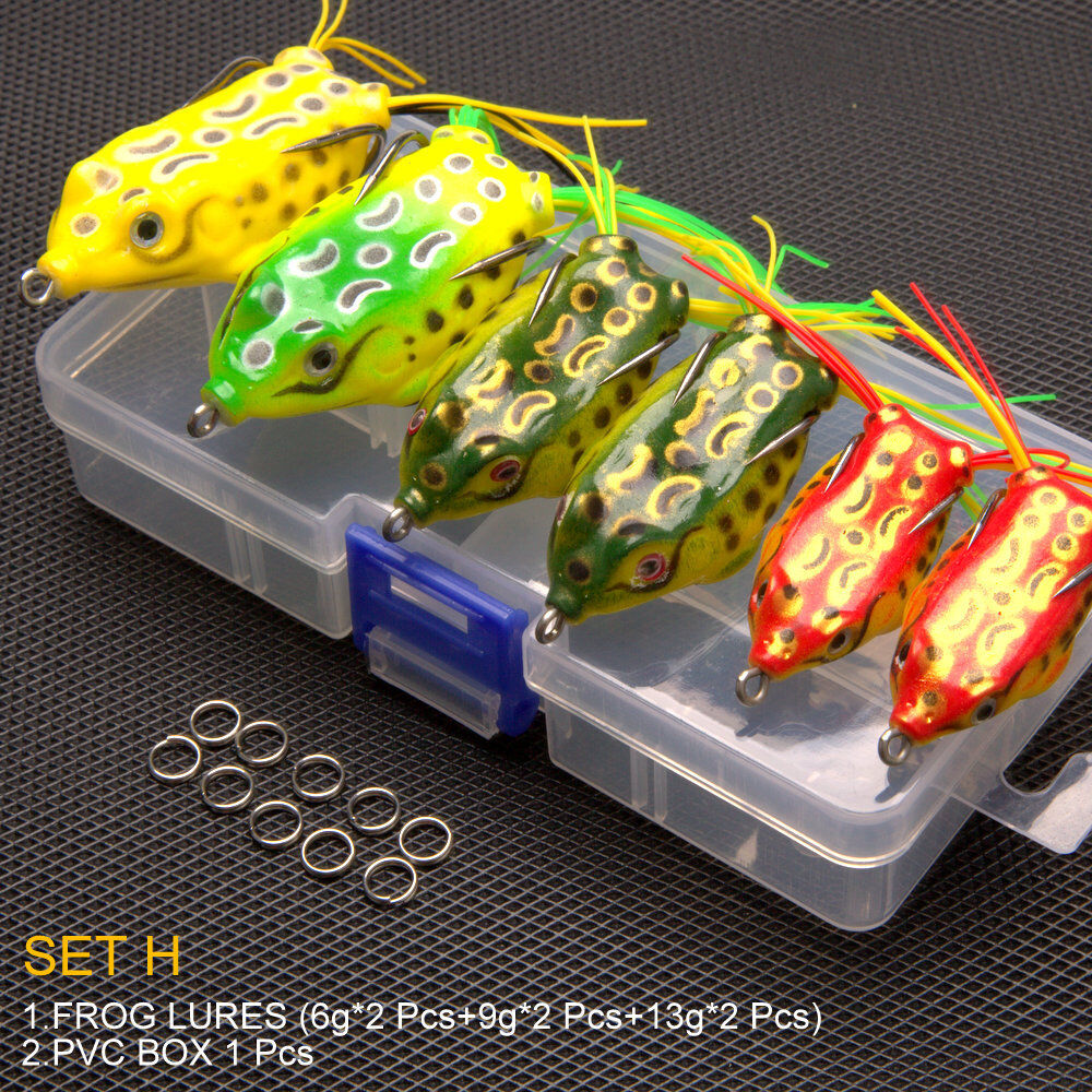 1pcs Large Soft Rubber Fishing Lures Baits Top Water Tackle Hooks Bass Bait New