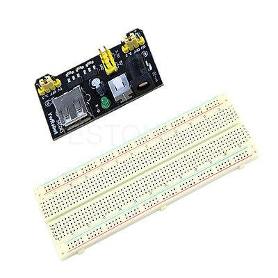 3.3v5v Mb102 Power Module Mb102 830 Points Solderless Prototype Breadboard Kit