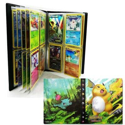 240 Pokemon Cards Album Binder Folder Book DIY Cards Holder List Card Collectors