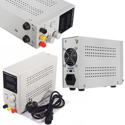 Ac110v Lab Dc Bench Power Supply Variable 010a Adjustable Switching Regulated