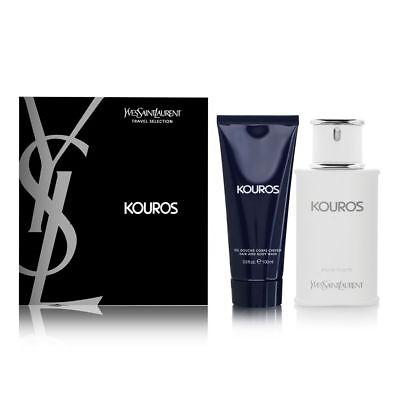 Kouros Set - Kouros by Yves Saint Laurent for Men Set Brand New