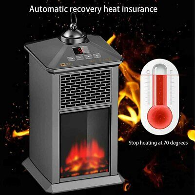 Winter Patio Heaters Automatic Constant Temperature Electric Heater Outdoor Safe