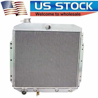 1953 Ford F100 Pickup - 1953 54 55 56 Ford F100 Pickup Truck 3 Row Aluminum Radiator 1 Inch Tubes AE5356