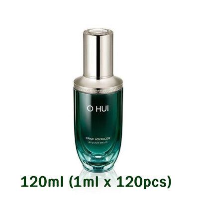O HUI Prime Advancer Ampoule Serum 120ml (1 ml x120 pcs) Lifting Moist K-Beauty