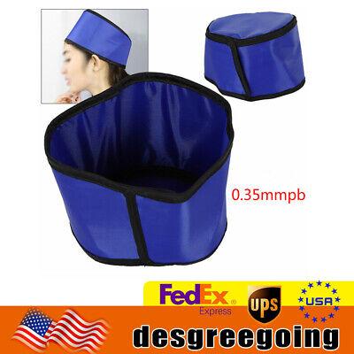 New Radiation Protection X-ray Head Shield Lead Cap Ct Lead Hat 0.35 Mmpb Usa