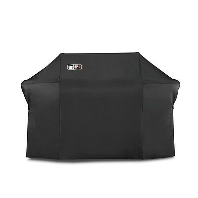Weber 7109 Grill Cover With Black Storage Bag For Summit 600-Series Gas Grills