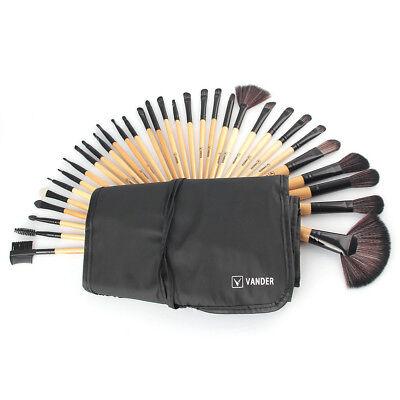 Cheap Makeup Kits (32PCS Vander  Eye Makeup Brushes Set Kit Professional Cheap Makeup Brushes)