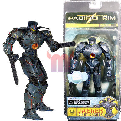 "NECA Pacific Rim Gipsy Danger Battle Damage Jaeger 7"" Action Figure Robot Doll for sale  China"